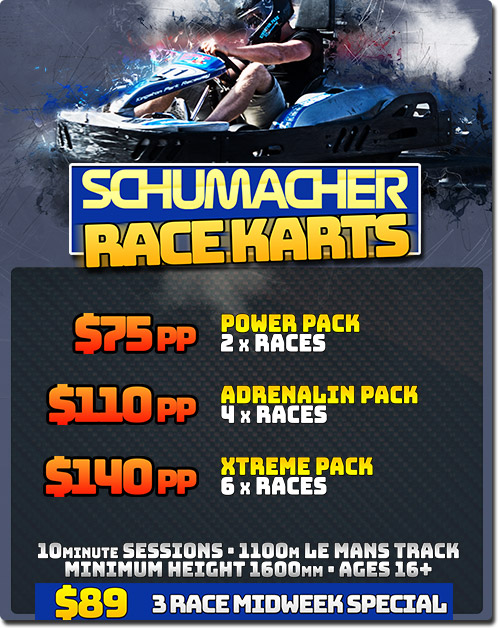 Schumacher Go Karting Prices