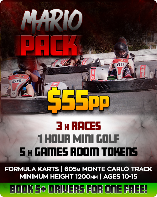 February party Deals in Formula Karts