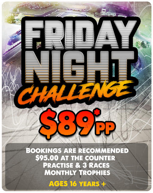 FRiday Night Challenge at Kingston Park Raceway