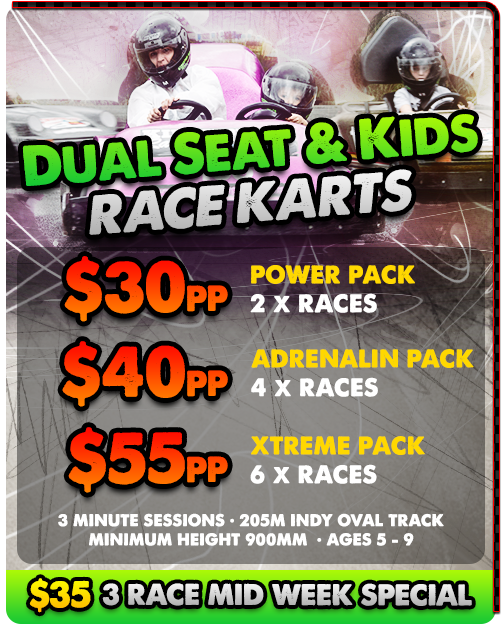 Kids Go Karting prices