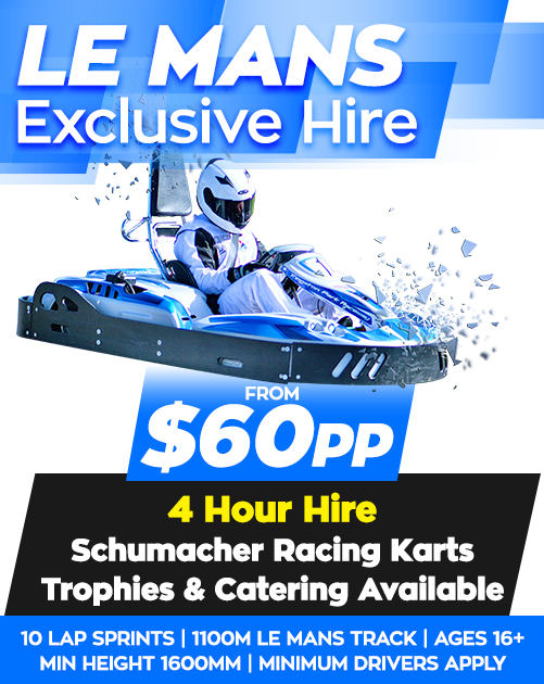Schumacher Karts for corporate go karting events