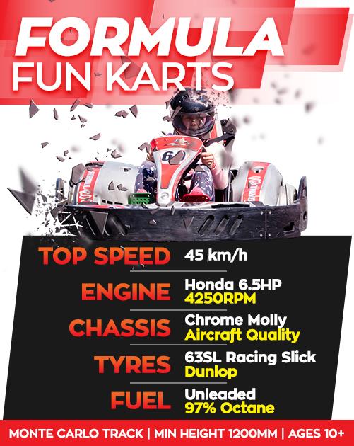 Formula-Go-Karts-Specs
