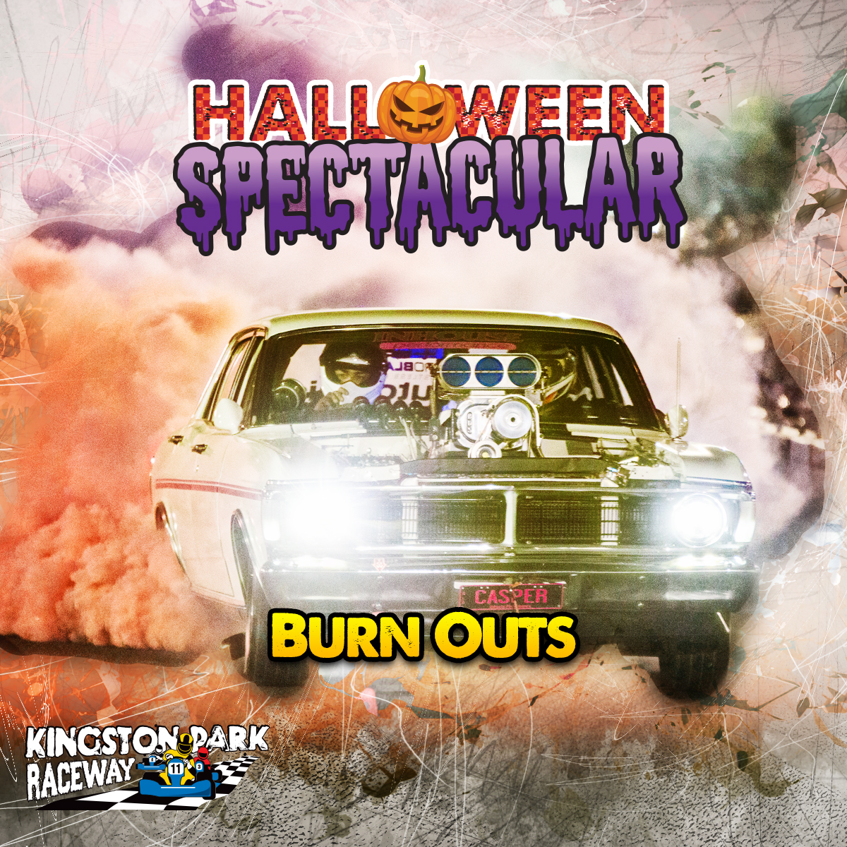 Kingston Park Raceway Halloween Spectacular