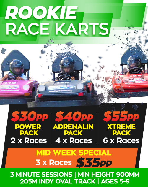 Dual Seater and Kid's karts