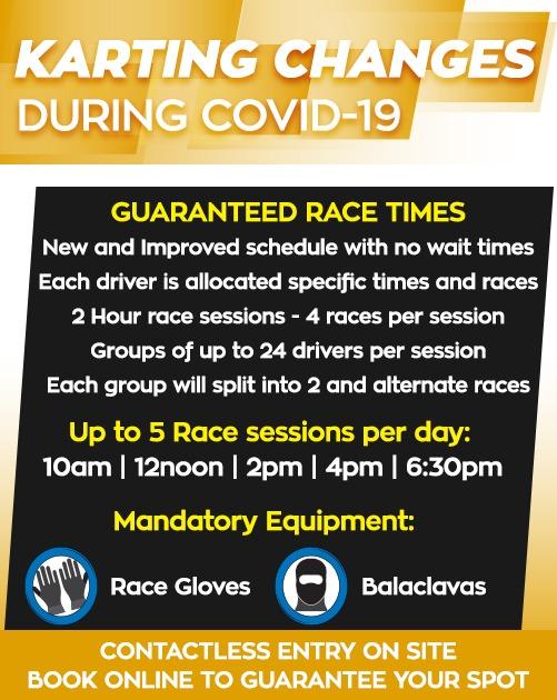 Kingston-Park-Raceway-Covid-19-Changes