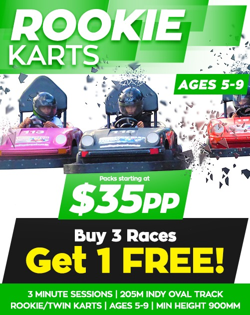Kingston-Park-Raceway-Rookie-Go-Karts-School-Holiday-Offer