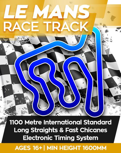 Kingston-Park-Raceway-Corporate-Event-Le-Mans-Track