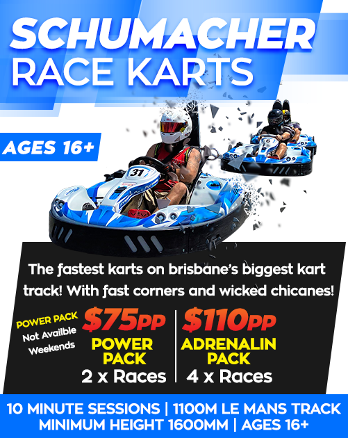 Kingston-Park-Raceway-Schumacher-go-karts-prices