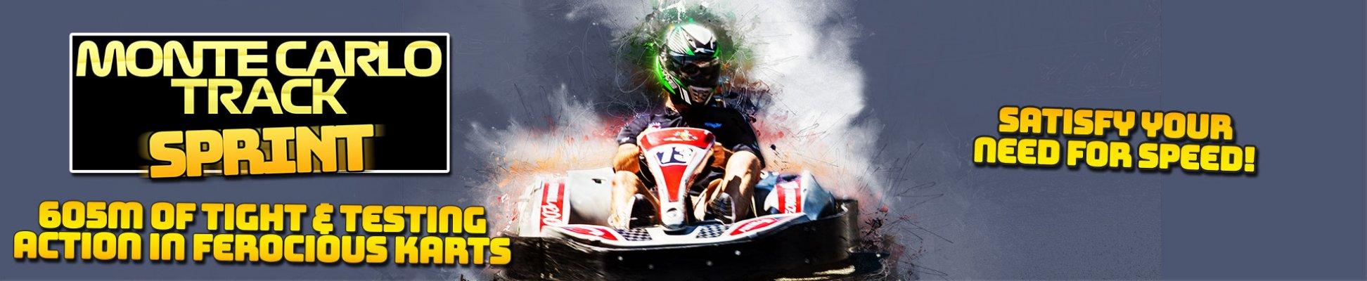 Monte Carlo Track Sprint