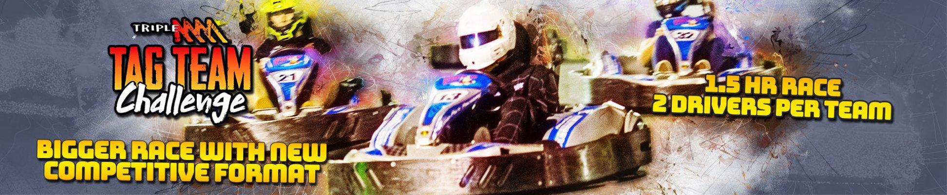 Tag Team Go kart Challenge